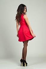 Платье соты трикотаж без рукавов , фото 3