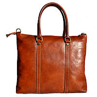 Мужской кожаный портфель 2121 cognac, фото 1