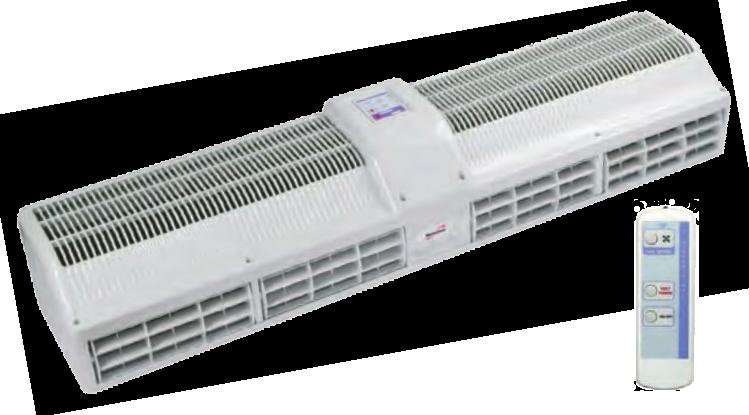 Тепловая завеса NeoClima Standard E 46 IR (дист.упр., 12кВт, проем 1,6 м, горизонт)