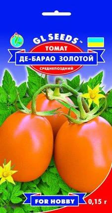 Томат Де-барао золотой, пакет 0,1г - Семена томатов, фото 2