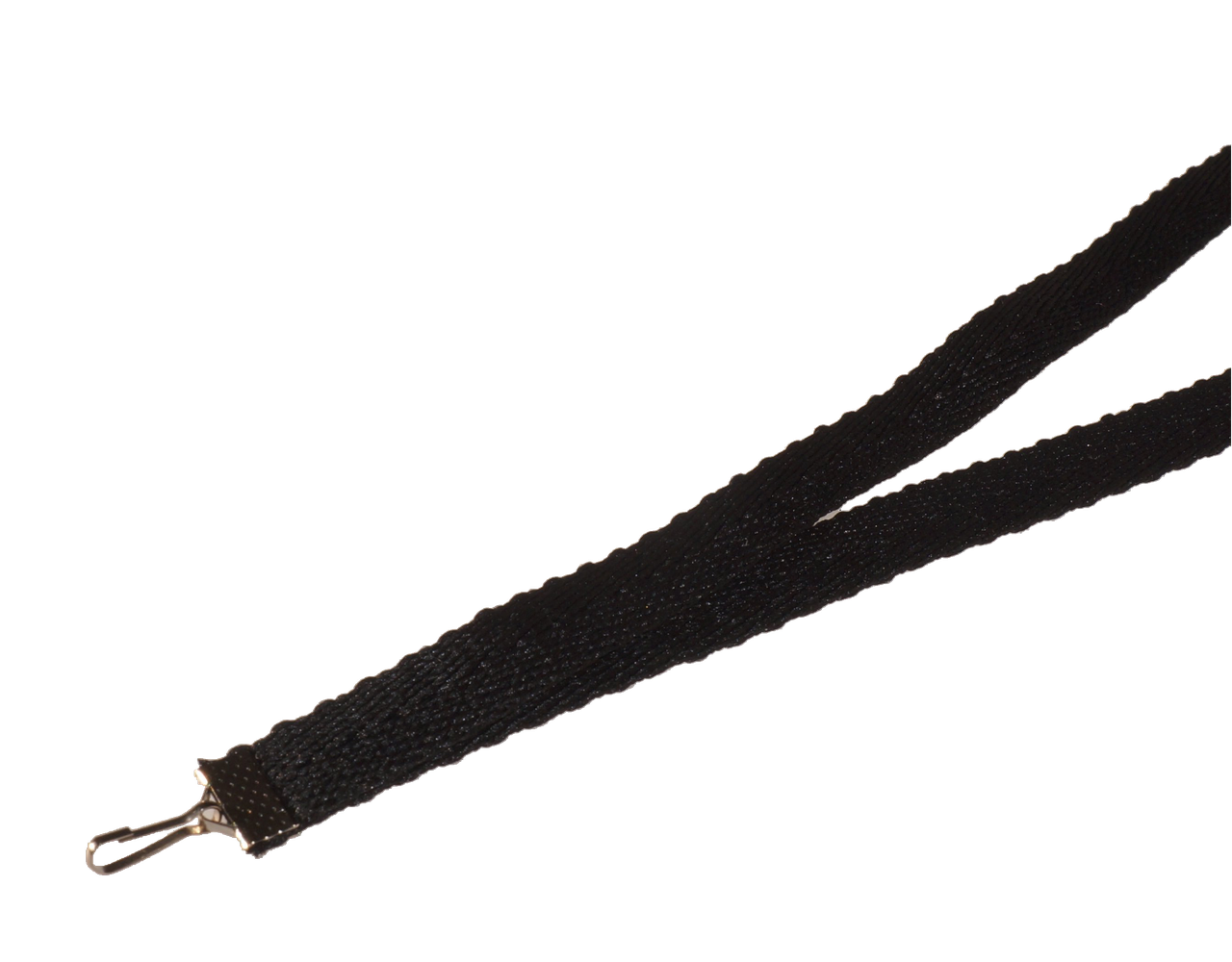 Ленты для бейджей 10 мм Чёрный