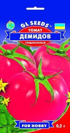Томат Демидов, пакет 0,2г - Семена томатов, фото 2