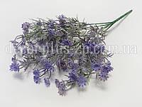 Букетик лютиков полевых фиолетовый, с напылением, фото 1