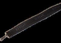 Ленты для бейджей 10 мм Чёрный- Т.серый текст BERSER