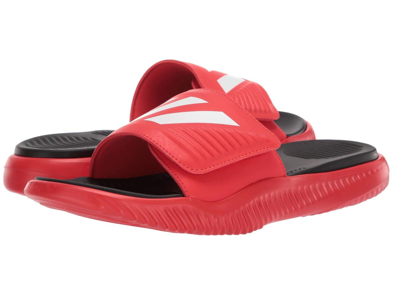 26b7e5ba80f Сандали/Вьетнамки (Оригинал) adidas Alphabounce Basketball Slides Active  Red/Footwear White/Core Black