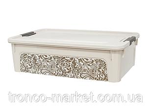 Алеана Контейнер Smart Box с декором 14 л. Home, фото 3