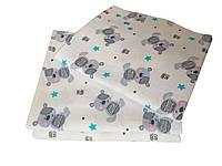 Пеленка фланелевая/байковая 110х90