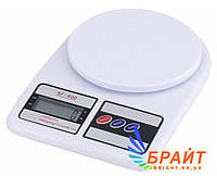 Кухонные весы SF 400 до 10 кг с тарокомпенсацией