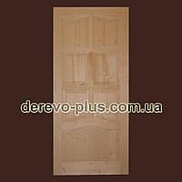 Двері з масиву дерева 90см (глухі) f_1190