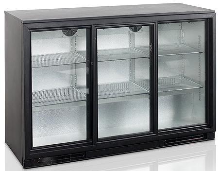 Барный холодильный шкаф Tefcold BA30S-3-P
