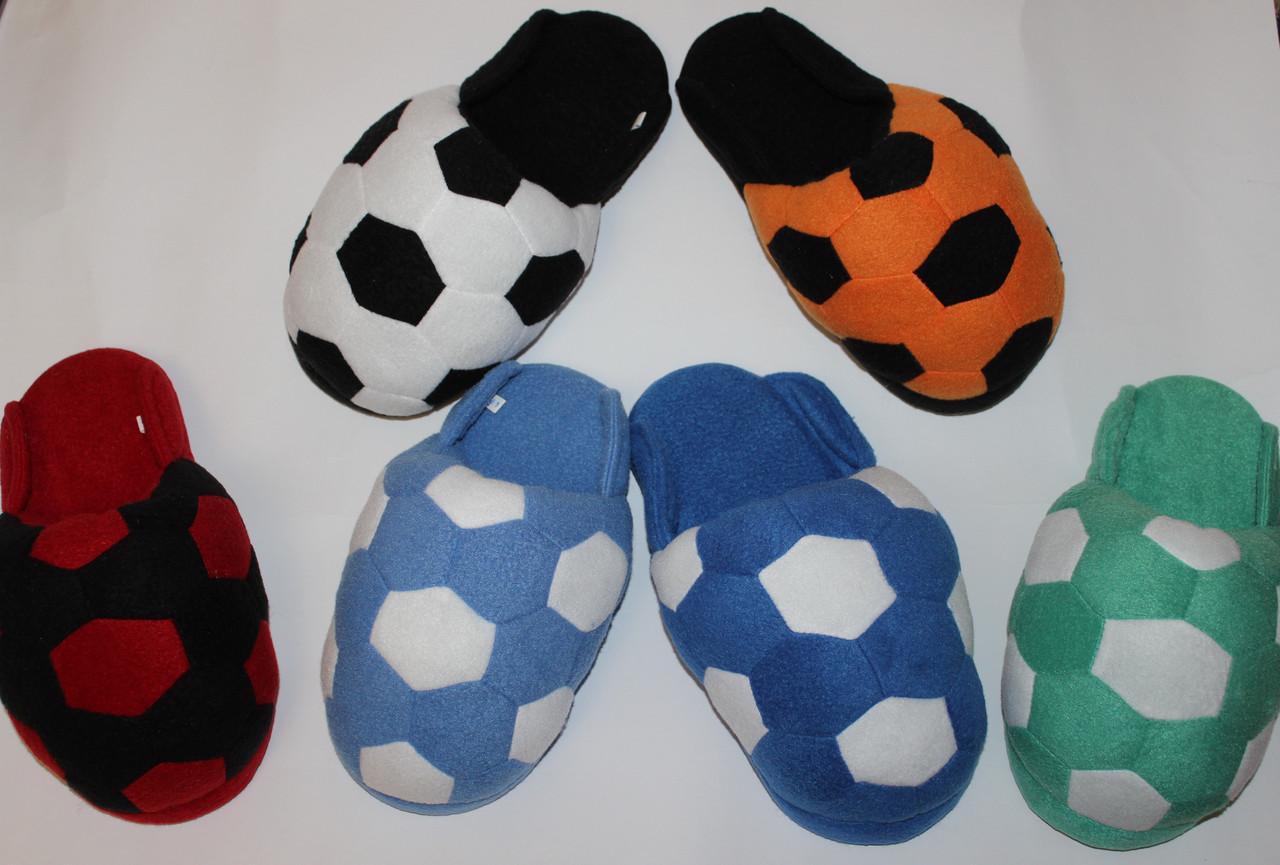 Мужские тапочки Футбольный мяч Размер 25 - 45