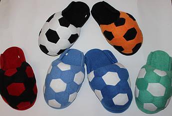 Мужские тапочки Футбольный мяч Размер 44, 45