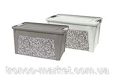 Алеана Контейнер Smart Box с декором 27  л. Home