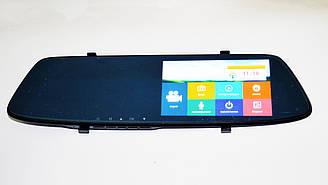 """Зеркало заднего вида с видео регистратором DVR L1001С Full HD 5"""" сенсорный экран.+ПОДАРОК!"""