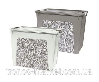 Алеана Контейнер Smart Box с декором 40  л. Home, фото 2