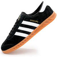 4649de9f8491da Мужские кроссовки Adidas Hamburg - Натуральная замша - Реплика р.(36, 37,