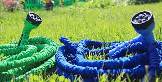 Шланг для полива xHose ( Шланг поливочный растягивающийся) 75 метров (25 метров в сложенном виде)