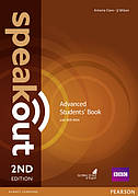Speakout 2nd Edition Advanced Coursebook with DVD Rom ISBN: 9781292115900