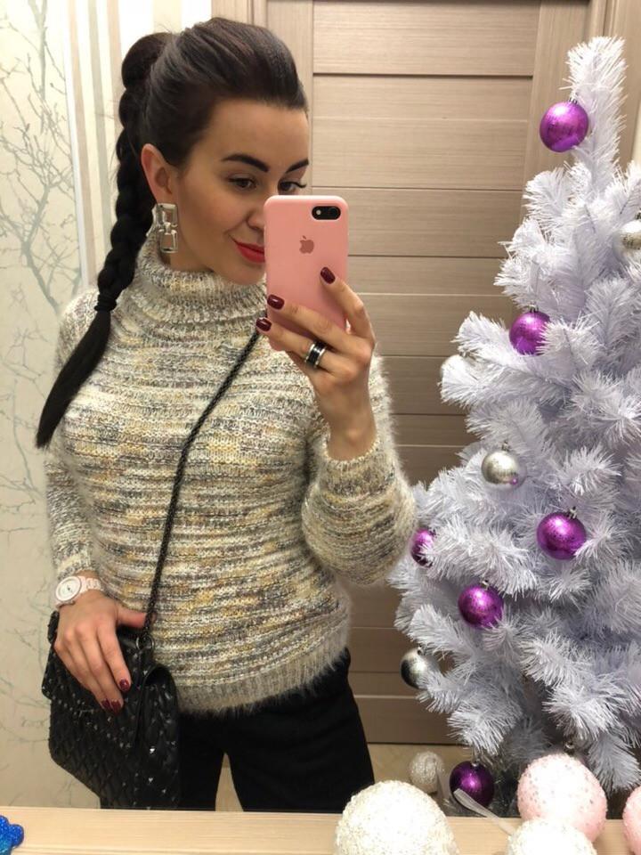 Женский теплый свитер ЕН0001