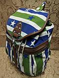 Рюкзак женская холст/Сделано в Китае(только оптом), фото 2