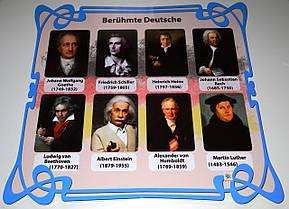 Портреты немецких писателей Berühmte Deutsche