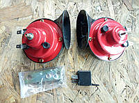 Сигнал звуковой GMP комплект 2 шт (ракушка)