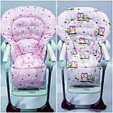 Двухсторонний чехол на стульчик для кормления Chicco Polly Magic, фото 5
