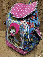 Рюкзак женская холст/Сделано в Китае(только оптом), фото 1