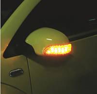 ⛔ Универсальные повторители поворотов на зеркала 13 светодиодов ( Указатель поворотов )🚖