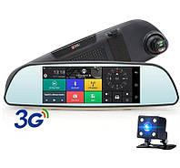 "Видеорегистратор зеркало Eplutus D30 Android GPS и Wi-Fi 2 камеры 7"" дюймов PF"