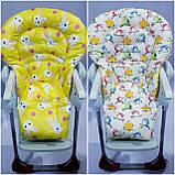 Двосторонній чохол на стілець для годування Chicco Polly Magic, фото 6
