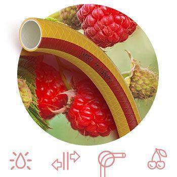 """Шланг поливочный 1/2 дюйма 50 м (12 мм) армированный SYMMER """"Fruit Berry"""" Украина"""