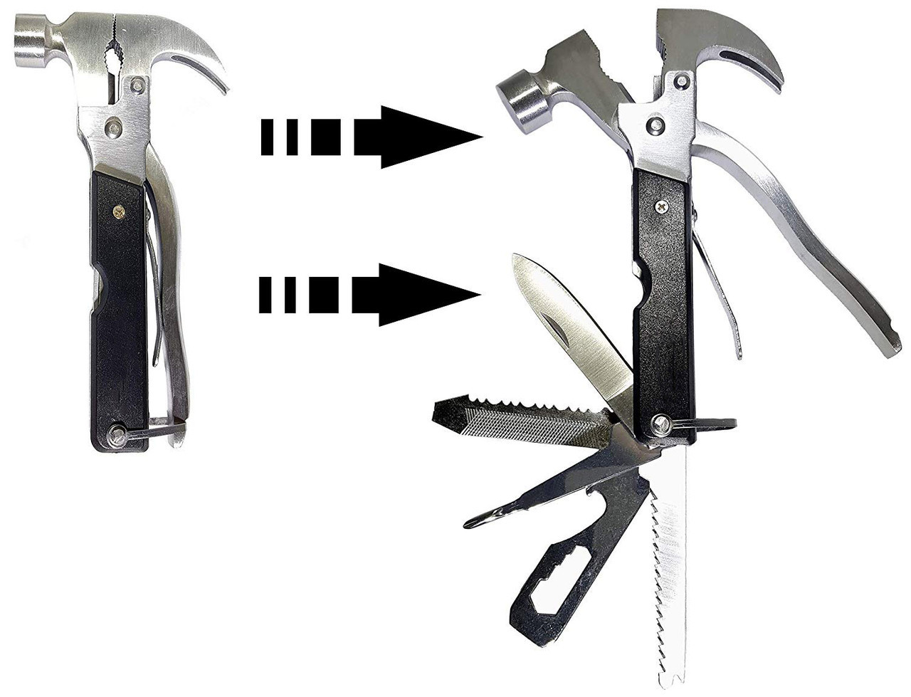 Мультитул с молотком Multi hammer 18 в 1