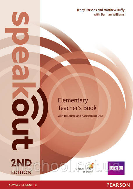 Speakout 2nd Edition Elementary Teacher's Guide with Resource & Assessment Disc ISBN: 9781292120140