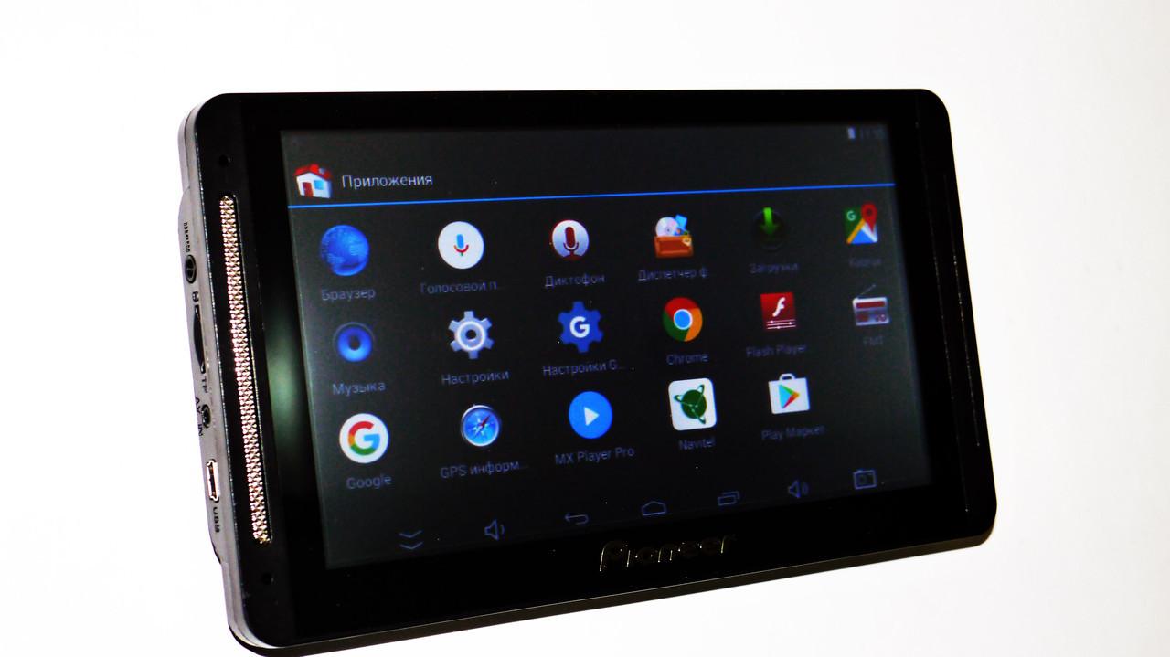 "7"" навигатор Pioneer 708 - 4дра+1Gb RAM+16Gb ROM+Bluetooth+GPS+Android"