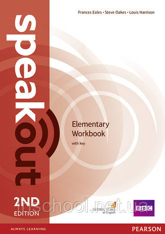 Speakout 2nd Edition Elementary Workbook with Key ISBN: 9781447976769, фото 2