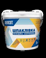 Ферозіт 1  Шпаклівка акрилова фінішна (створює ідеально гладке покриття для фарбування) 16 кг