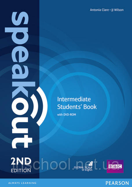 Speakout 2nd Edition Intermediate Coursebook with DVD Rom ISBN: 9781292115948