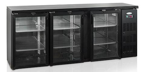 Барный холодильный шкаф Tefcold CBC310G-P
