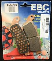 Тормозные колодки для мотоциклов Honda EBC FA261/2HH