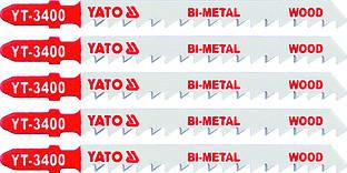 Полотно для электролобзика BI-METAL дерево , 6TPI, L - 100м, набор 5пр. - Yato