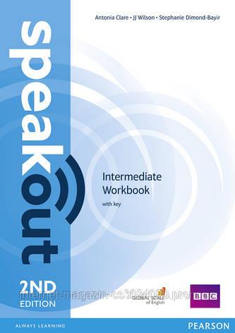 Speakout 2nd Edition Intermediate Workbook with Key ISBN: 9781447976868, фото 2