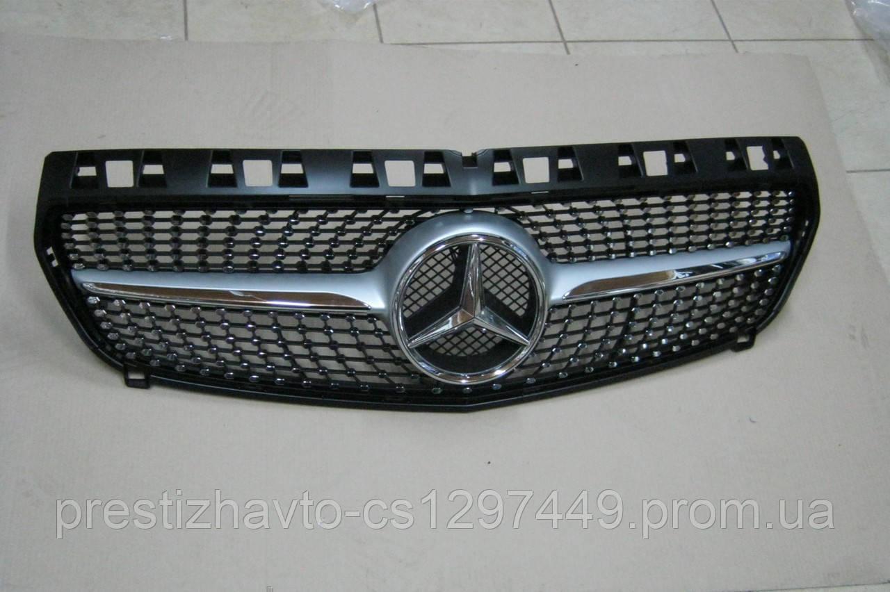 Решетка радиатора на Mercedes A-Сlass W176