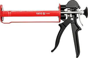 Пистолет скелетный для нанесения герметиков , L - 215 мм - Yato