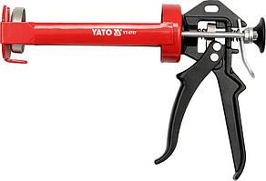 Пистолет скелетный для нанесения густых и вязких герметиков , L - 200 мм, D - 65 мм - Yato