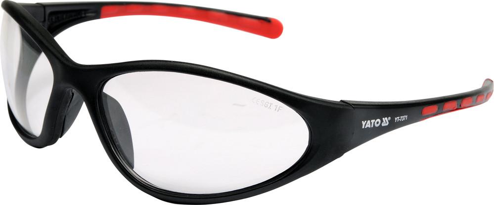 Защитные Очки прозрачные на оправе - Yato