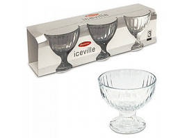 Креманка для мороженного Айсвиль набор из 3-х