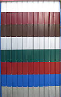 Профнастил ПС-8 глянець (Корея) 0,42мм