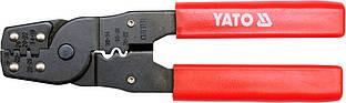 Клещи для зачистки проводов и обжима клем , L - 180 мм - Yato