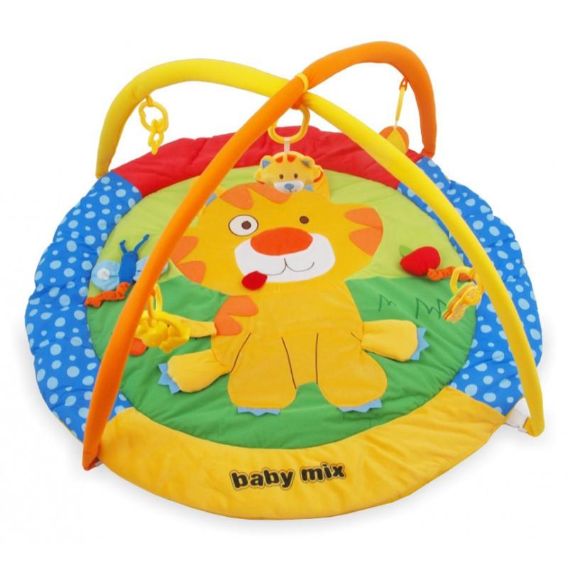 Детский игровой развивающий коврик Baby Mix TK/3249С Тигренок